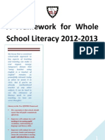 Framework for Whole School Literacy