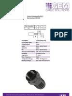 F Type Straight Crimp Plug for RG11