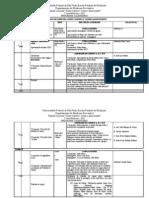 PROGRAMA CALENDÁRIO DO 1º ANO DE MEDICINA SAÚDE COLETIVA I    versão de 20 novembro