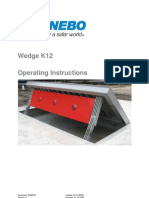 Z-2048916 operating instructions wedge w.warning plate