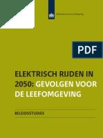 PBL 2012 Elektrisch Rijden in 2050 500226002