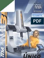 Maquina de Medicion Por Coordenadas TESA Microhite 3D REFLEX