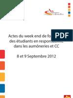 Acte Du Weekend CGE ENPE A5