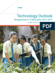 2012 Technology Outlook for Singapore k12 Education