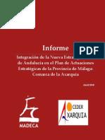 Documento Estrategico de Planificacion de La Comarca de La Axarquia