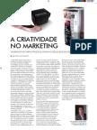 A criatividade no Marketing