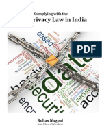 Complying with the Data Privacy Law in India