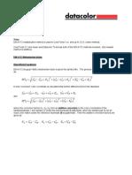 Metamerism Index