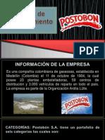 Presentación Postobón