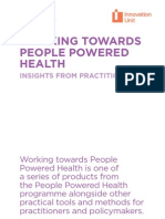 Working Towards People Powered Health