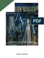 Donald Michael Kraig Modern Magick 12 Lessons