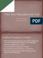 Obat Anti Hiperglikemik Oral
