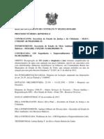 RESUMO DO EXTRATO DE CONTRATOS CONSTRUÇÃO CISTERNAS E REUPERAÇÃO POÇOS