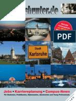 2012/13 Hochschulmagazin Region Karlsruhe Wintersemester