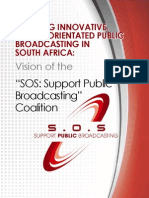 Ensuring Innovative Citizen-Oriented Public Broadcasting in South Africa