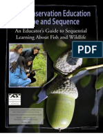 K-12 Conservation Education Scope And Sequence