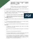 FCRA Charter I