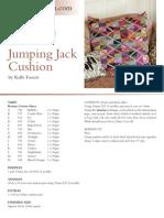Jumping Jack Cushion
