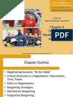 Public Sector Union Negotiation Models, Strategies, and Tactics