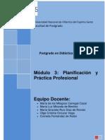 Modulo 3 Planificacion y Practica