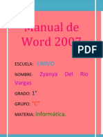 Manual Word 2007 Zyanya