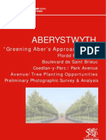 Greening Aber's Approach Road