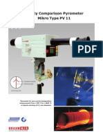 Comparison pyrometer Mikro PV11_e