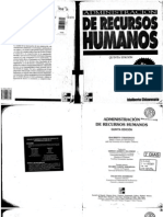 Administración de RRHH 5ta Edición - Idalberto Chiavenato