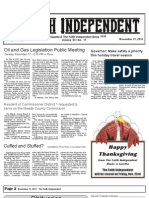 Faith Independent, November 21, 2012