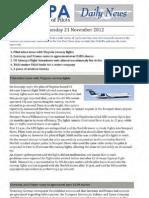 2012-11-21 Ifalpa Daily News