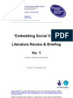 Embedding Social Value