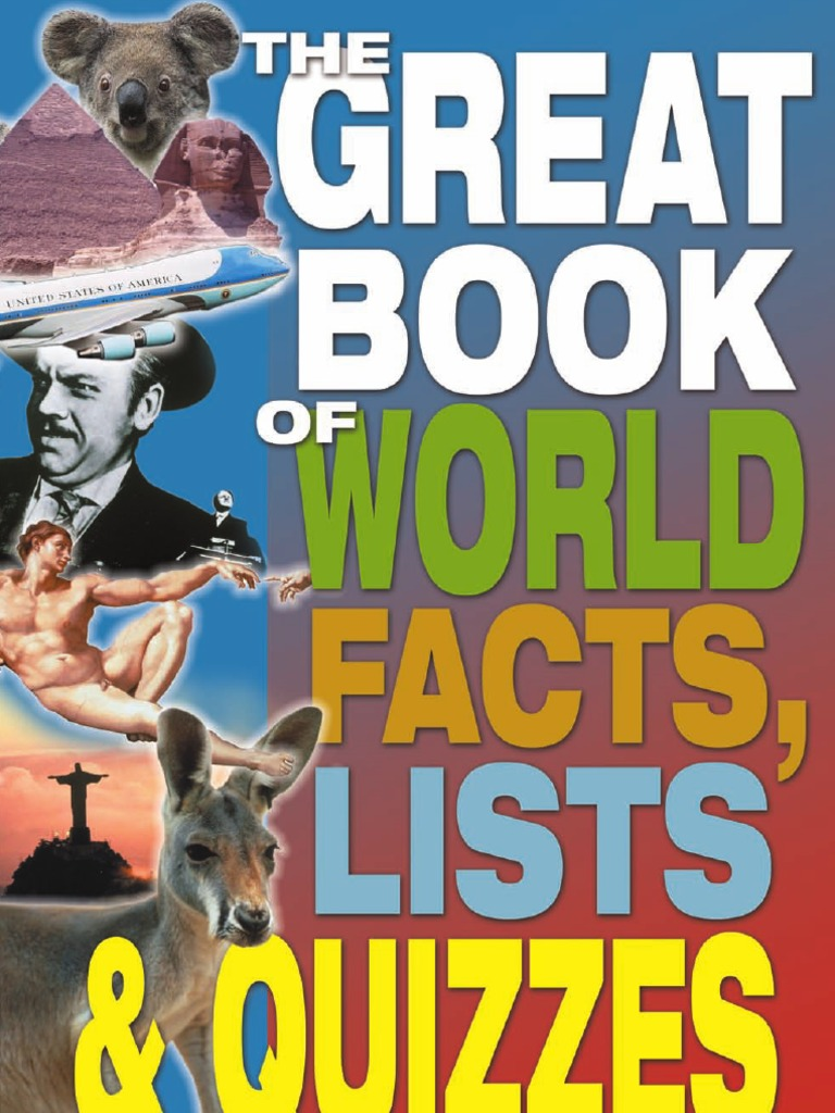 1841931209Great Book of World Facts, Lists Quizzes