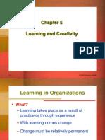 Learning in Organization