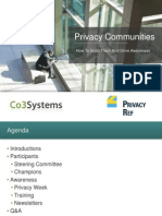 Privacy Communities