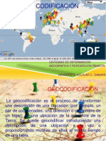 Geocodificacion Sig