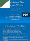 Installation of the Shotgun Offense by James Vint[1]