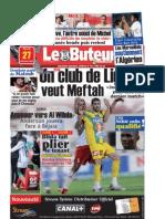 LE BUTEUR PDF du 27/01/2009