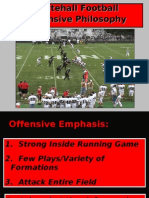 Whitehall College Offensive Philosophy