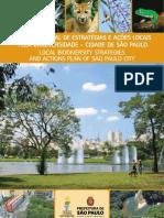 Plano Municipal pela Biodiversidade Município de São Paulo