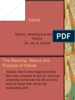 Ch.1 Meaning of Values