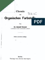 Chemie der Organischen Farbstoffe - Dr. Rudolf Nietzki