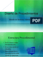ESTRUCTURA PROCEDIMENTAL DOCUMENTACION