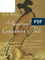 An Imperial Concubine's Tale -- G. G. Rowley