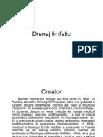 Carte Drenaj Limfatic