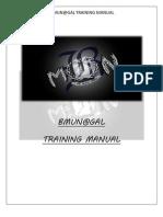 B.MUN@GAL Training Manual