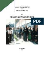 ELIO EUGENIO MÜLLER dados biográficos