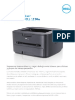 Dell 1130 1130n Laser Datasheet Es