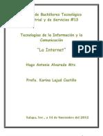 Alvarado Martinez Hugo Antonio S Trabajo Del Internet