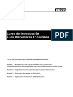 Curso de introducción a los disruptores endocrinos