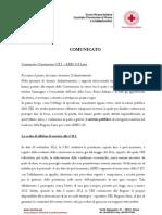 Convenzione CRI - ARES 118_comunicatoCRI Roma